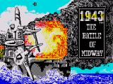 1943: The Battle of Midway ZX Spectrum Loading screen