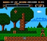 Gotcha! The Sport! NES Sniper in the trees!