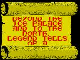 Beyond the Ice Palace ZX Spectrum The back story