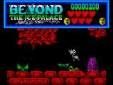 Beyond the Ice Palace ZX Spectrum When your character is killed his souls floats up and off the screen