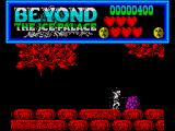 Beyond the Ice Palace ZX Spectrum Repeatedly smashing these mounds destroys them and allows you to progress further