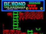 Beyond the Ice Palace ZX Spectrum Use the ladders to climb further up the level