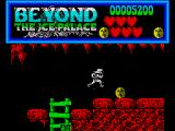 Beyond the Ice Palace ZX Spectrum These faces give you an extra life when collected