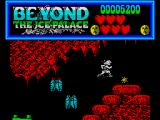 Beyond the Ice Palace ZX Spectrum The fireball weapon pick up