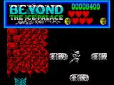 Beyond the Ice Palace ZX Spectrum Use the floating platforms to get higher up