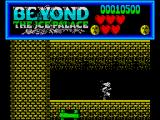 Beyond the Ice Palace ZX Spectrum The second level is inside a castle