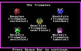 Super Munchers: The Challenge Continues... DOS the troggles, to be avoided - EGA