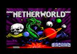 Netherworld Amstrad CPC Loading screen