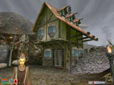 The Elder Scrolls III: Morrowind Windows Morrowind features splendid graphics and detailed architecture, outdoors...