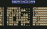 NorthStar Commodore 64 High scores