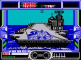After Burner II ZX Spectrum Taking off from the aircraft carrier