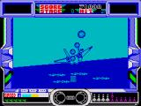 After Burner ZX Spectrum When hit you go down in a plume of smoke