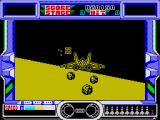 After Burner ZX Spectrum Level 3 is set in the desert at night