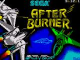 After Burner ZX Spectrum Loading screen