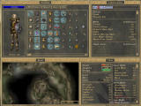 The Elder Scrolls III: Morrowind Windows Inventory, map, magic and stats windows can be freely arranged