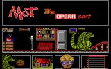 MOT Atari ST At the beginning of the house level