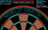 Pub Darts Atari ST The title screen