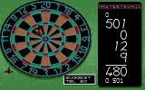 Pub Darts Atari ST The score is summed up