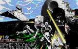 Star Wars: Return of the Jedi Atari ST The title screen
