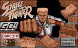 Street Fighter Atari ST The title screen