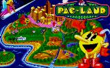 Pac-Land Atari ST Loading screen