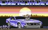 Overlander Commodore 64 Loading screen