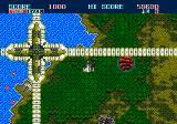 Thunder Force II Genesis almost flying into the border