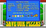 Skunny: Save Our Pizzas! DOS Legend
