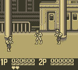 Double Dragon II Game Boy The Subway, Level 2