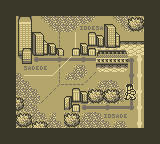 Double Dragon II Game Boy Useless Map Screen