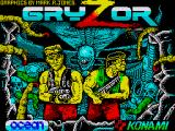 Contra ZX Spectrum Loading screen