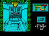 Contra ZX Spectrum In level 2 the perspective changes from horizontal to vertical