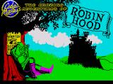 Robin Hood: Legend Quest ZX Spectrum Loading screen