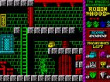 Robin Hood: Legend Quest ZX Spectrum Starting off on your quest