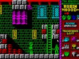Robin Hood: Legend Quest ZX Spectrum Use you bow and arrows to kill these enemies
