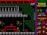 Robin Hood: Legend Quest ZX Spectrum Avoid the rising ball and chain