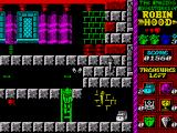 Robin Hood: Legend Quest ZX Spectrum Use the ladders to get up to the higher level