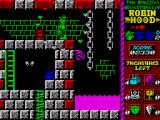Robin Hood: Legend Quest ZX Spectrum These cannon balls are very hard to avoid
