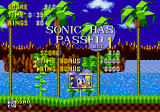 Sonic the Hedgehog Genesis First stage completed