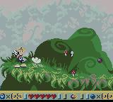 Rayman Game Boy Color Spellbound Forest