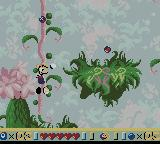 Rayman Game Boy Color Climbing to reach higher ground