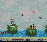 Rayman Game Boy Color Finding an imprisoned Toon