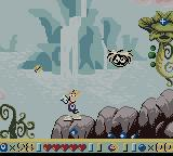 Rayman Game Boy Color Rainy Forest