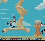 Rayman Game Boy Color End of the stage