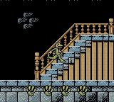 Gex: Enter the Gecko Game Boy Color Dash on the stairs