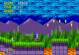 Sonic the Hedgehog Genesis A nice tour of the Marble Zone...Sonic decides to stop for a sec and enjoy the scenery.