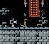 Gex: Enter the Gecko Game Boy Color A bat on Smellraiser stage