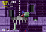Sonic the Hedgehog Genesis Let's see what happens if I push this block...