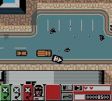 Grand Theft Auto 2 Game Boy Color The police shooting at me
