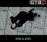 Grand Theft Auto 2 Game Boy Color Killed